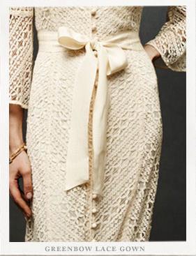 anthropologie brand launch wedding dresses